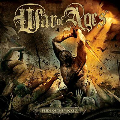 War Of Ages - Pride Of The Wicked Vinyl LP Facedown NEU