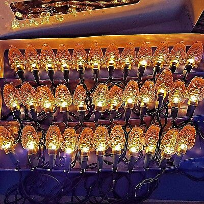 Midwest Cannon Falls 35 Pinecone Christmas Thanksgiving String Lights Strand