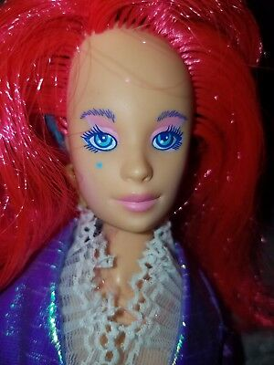 Jem and The Holograms Hasbro Second Edition Kimber Doll Old Vintage With clothes