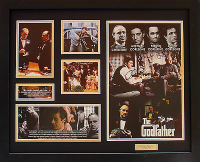The Godfather Limited Edition Signatures Framed Memorabilia (b)