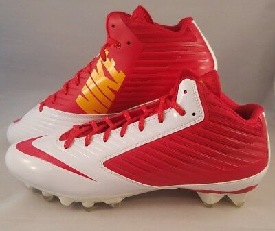 on sale 348c7 0aee2 Nike Vapor Speed TD 3 4 Football Cleats Men s Size 16 Red White Yellow  668839