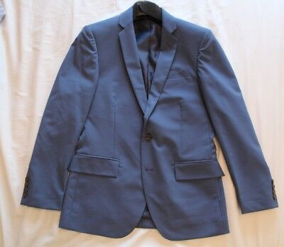 J Crew Thompson Flex wool Suit full size 36s 31 x 30 BNWT Navy