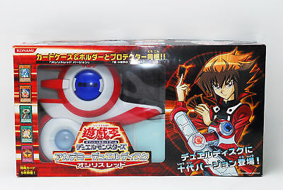 [Near Mint] Yu-Gi-Oh! Academy Duel Disk Osiris-Red Launcher w/ Box from Japan
