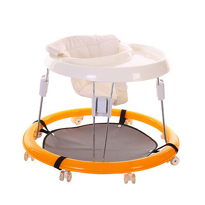 Baby Sit-to-Stand Toddlers Adjustable Walker Learning Comfort   Foldable Car UDW