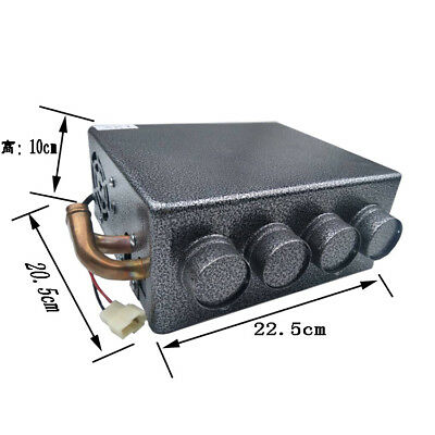 4-Hole Copper Underdash Compact Car Truck Heater Heating +Speed Switch Universal