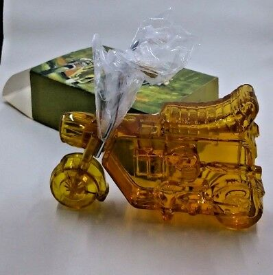 Vintage Avon mini-bike Decanter Bottle- Full in box Sure Winner Bracing Lotion