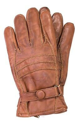 Riparo Men's Genuine Leather Winter Gloves with Fleece Lining