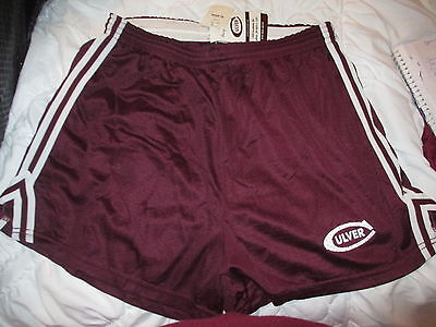 Culver Military Academy CMA Russell Athletics Dark Maroon Mesh Shorts Youth XL