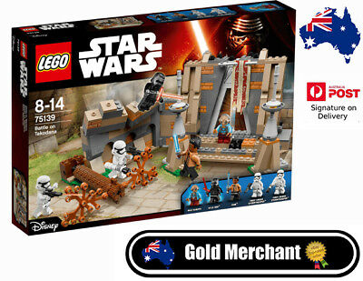 LEGO 75139 Star Wars Battle on Takodana (BRAND NEW SEALED)