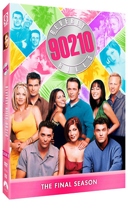 Beverly Hills 90210: The Final Season 10 Tenth (DVD) • NEW • Luke Perry