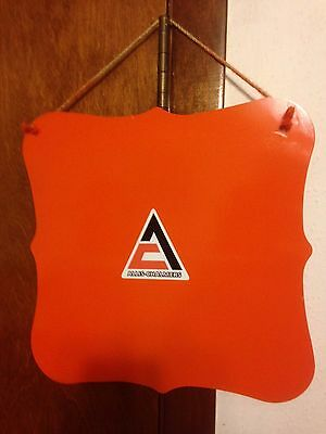 """Allis Chalmers 12"""" x 12""""  Homemade Sign"""