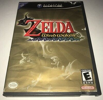 Legend of Zelda: The Wind Waker Nintendo GameCube No Manual Free Shipping!