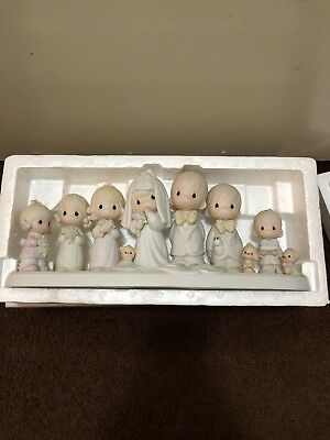"""""""ENESCO PRECIOUS MOMENTS"""" 1983 This Is The Day Which The Lord Hath Made Figurine"""