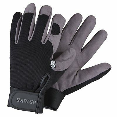 BRIERS Professional Gardening Gloves Stretchable Breathable Durable - sizes M L