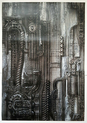 H.R.Giger N.Y.City III, Straight Signed 235/500 PENTHOUSE EDITION