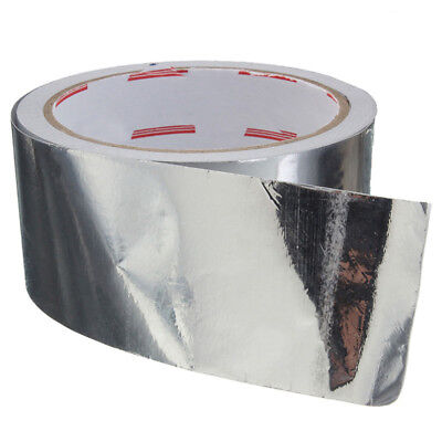 1 Roll  Foil Aluminium Insulation Heating Duct Tape Foil Tape Silver 17M X 5CM
