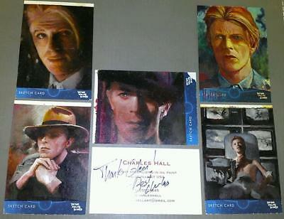 David Bowie 2013   T.m.w.f.t.e.  Unstoppable Fine Art Originals By Charles Hall