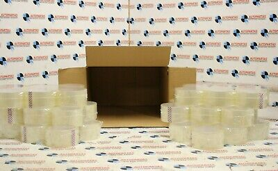 Rolls Clear Parcel Packing Packaging Sellotape Box Sealing 48Mm X 60M Tape
