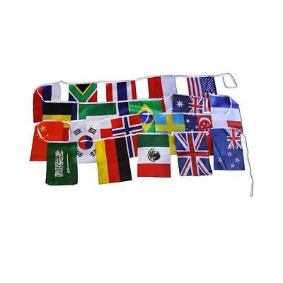 CleverStuff 20 Flags of the World Kids Children Learning Educational Play Toy