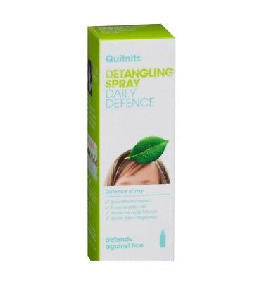 Quitnits 200ml Detangling Defence Spray Defends against lice Quit Nits!