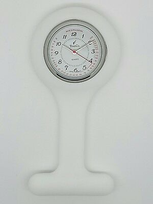 Nurse fob watch by Time Co 1161-9A RRP £14.99 white