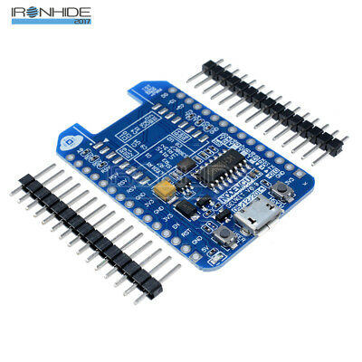 NodeMcu Lua ESP8266-12E 12F CH340 WIFI Internet Development Board  Adapter Board