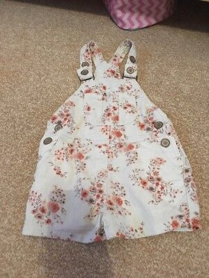Girls Next Play suit Dungarees Outfit Size 2-3 Years