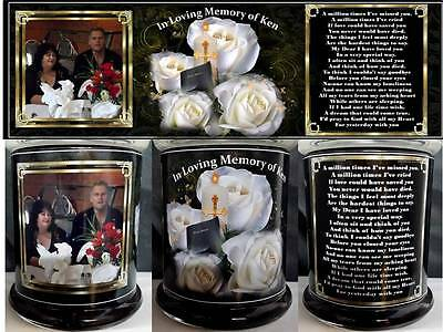 Memorial  photo Candle