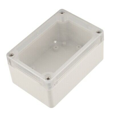 Screw Mounted Clear Cover Waterproof Sealed Junction Box 100x68x50mm E2V4