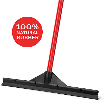 """Floor Squeegee Black 18"""" / 46 CM Heavy Duty with Handle for Industrial"""