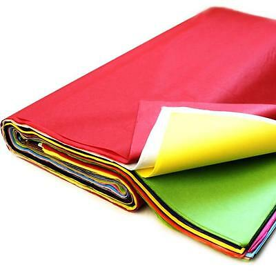White Pink Blue Green Acid Free Tissue Wrapping Paper Size Ream Red  Black 50