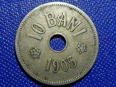 10 bani 1905 Romania Coin Low Shipping! Combine FREE!