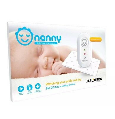 B6 NANNY BABY BREATHING MONITOR Mother New Born Care Nursery Sleeping
