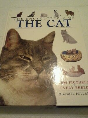 Encyclopedia of The Cat, 1000 pics of every breed, cat lovers book