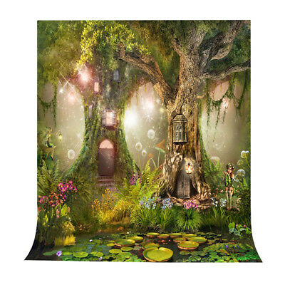 Photo Background 5X7FT Fairy Tale Photography Backdrop Studio Props O4Q6