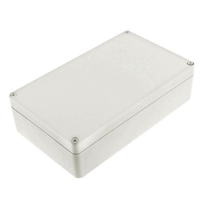 Water Resistant Plastic Enclosure Project Junction Box Case Gray M7T5