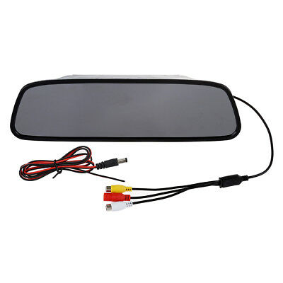 5 Inch Digital Color TFT LCD Car Rearview Mirror Reverse Monitor for Camera B3Q1