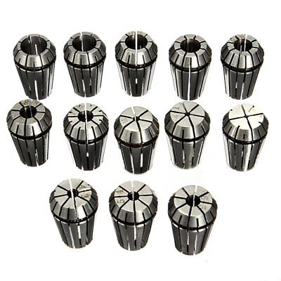 13 pieces ER20 Collets for CNC Milling Machines Tool Engraving Machine J9R5