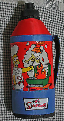 "Vintage ""The Simpsons"" complete insulated water bottle 2005"