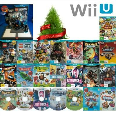 ❀ NINTENDO WII U ●● AWESOME TITLES! **ALL NEW** ●● Your Choice 15/12/17
