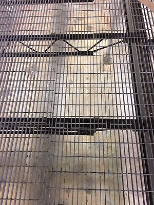 """Industrial Steel Bar Grating 17ft and 24ft  x 36"""" wide x 1"""" tall"""