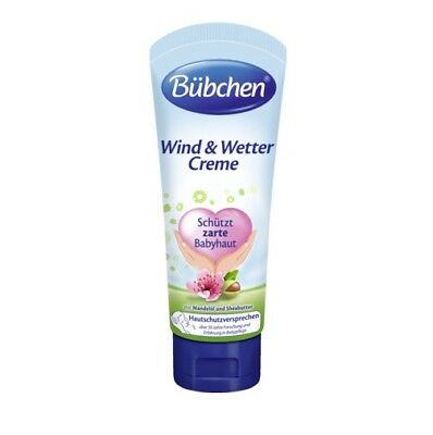 Bubchen Baby Cream with Almond oil. Protection in harsh weather. Cold and Wind