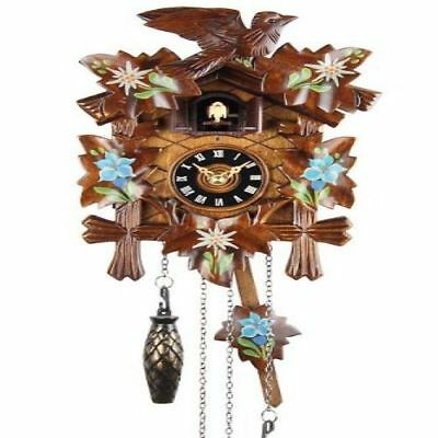 Black Forest Cookoo Clock Wall Musical Vintage Chiming Traditional House Room Li