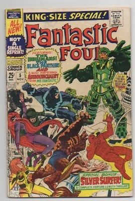 Fantastic Four King-Size Special 5 (1967)  1st Psycho Man