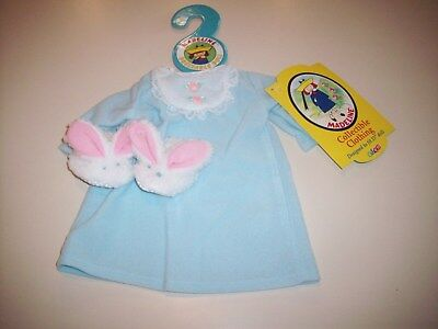 New With Tags Madeline Doll Clothes 15-Inch Doll ~ Nightgown & Bunny Slippers