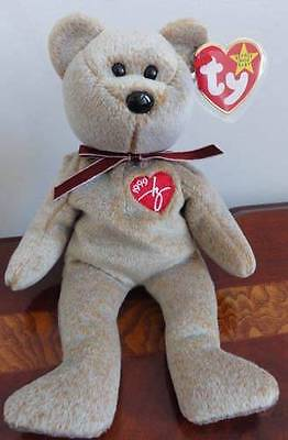 Ty Beanie Babies Baby 1999 Signature Bear Mwmt