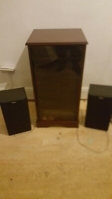 SONY HI-FI SYSTEM with remote control and cabinet