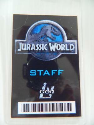 HALLOWEEN COSTUME MOVIE PROP - ID/Security Badges (Jurassic World - Staff)