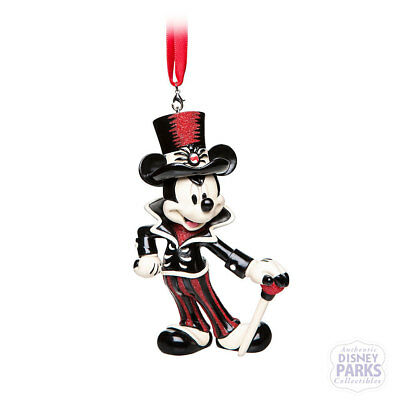 Disney Parks Mickey Mouse Halloween Figural Ornament