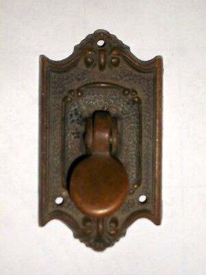 Antique Thumb latch Plate Door Handle Part Stamped 5  Parts, Art, Steam Punk
